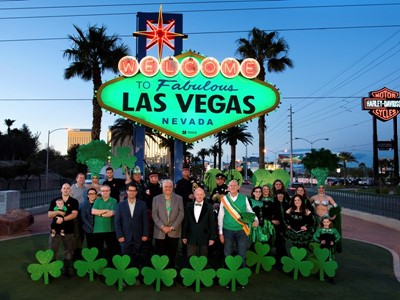 St. Patrick's Welcome to Fabulous Las Vegas