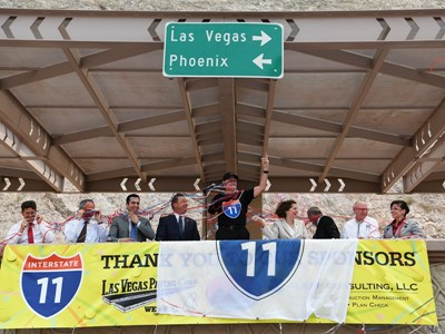 New Highway to Link Las Vegas and Phoenix