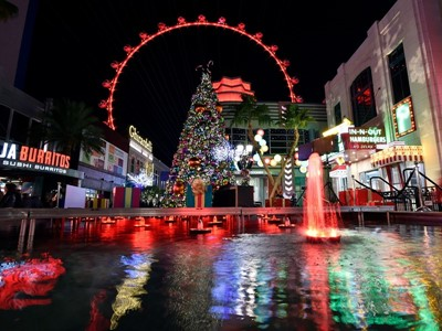 Las Vegas Celebrates the Holiday Season with Events and Decor