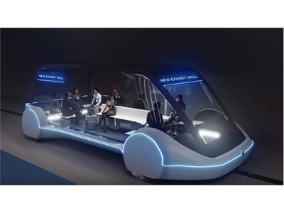 High-Occupancy Autonomous Electric Vehicle