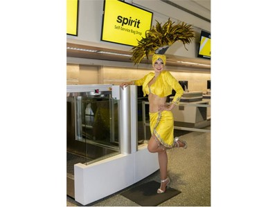 Spirit Airlines Launches Service to Las Vegas from Sacramento and Burbank