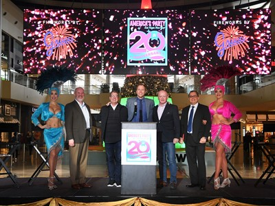 """Las Vegas Gears Up for """"America's Party 2020"""" on New Year's Eve"""