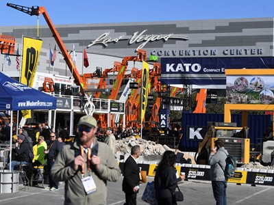 2020 World of Concrete Show in Las Vegas
