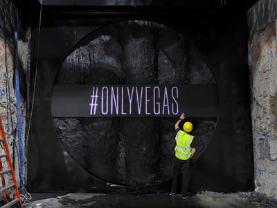 Las Vegas Convention Center Celebrates Major Milestone  in Elon Musk's Innovative Underground Transp