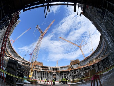 Construction Milestone Reached for MSG Sphere at the Venetian in Las Vegas