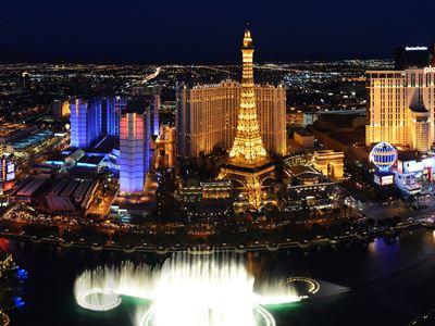 Las Vegas Tells 2020 to Kiss Off