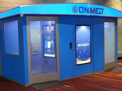 Las Vegas Convention Center first in world  to offer high-tech telemedicine station