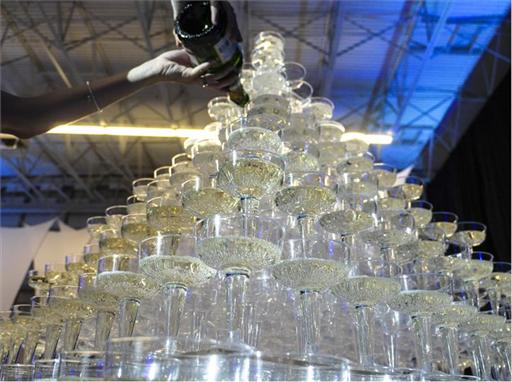 Ultimate Vegas Champagne Tower