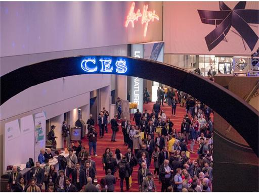CES attendees in Las Vegas