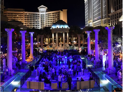 Vegas Uncork'd: The Grand Tasting panorama