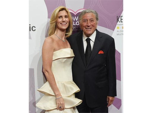 Tony Bennett and Susan Bennedetto