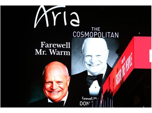 Don Rickles Marquee Tribute - The Cosmopolitan of Las Vegas