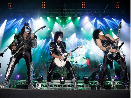 KISS onstage in Laughlin