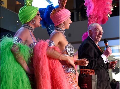 Las Vegas Host Committee Chairman Oscar B. Goodman welcomes the crowd