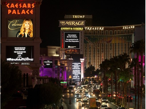 Caesars Palace, Mirage, Treasure Island, Linq