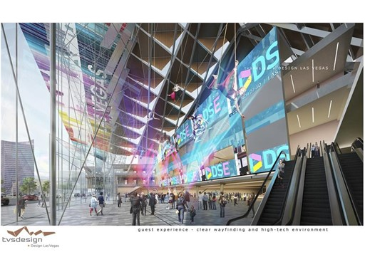 TVS Design/ Design Las Vegas- LVCCD Conceptual Rendering
