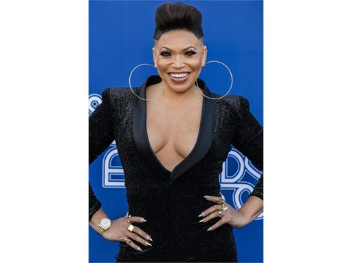 Host Tisha Campbell