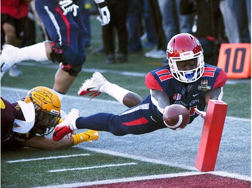 Fresno State running back Dejonte O'Neal