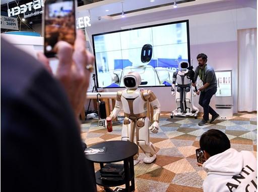 """UBTECH Robotics """"Walker"""" robot"""