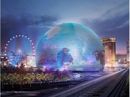 MSG Sphere rendering