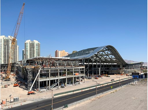 Las Vegas Convention Center Construction