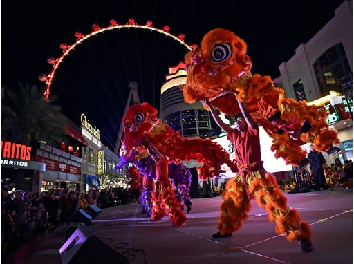 Celebration of the Lunar New Year at The LINQ Promenade