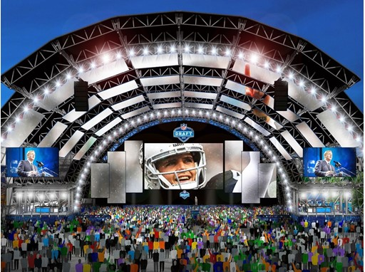 2020 NFL Draft Main Stage