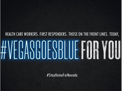 Vegas Goes Blue Social