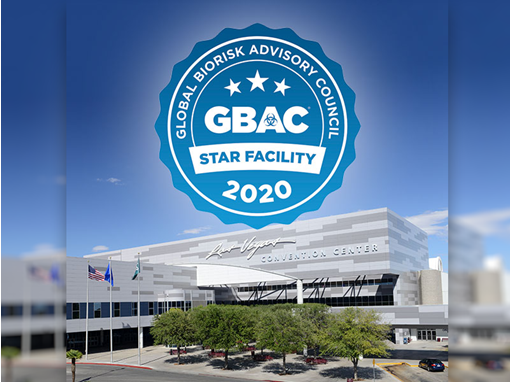 Las Vegas Convention Center Receives GBAC STAR Accreditation