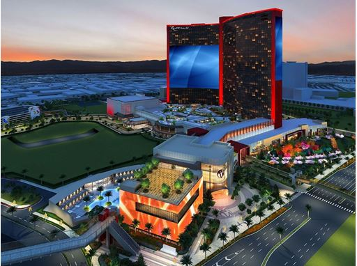 Resorts World Las Vegas - Property Exterior Rendering