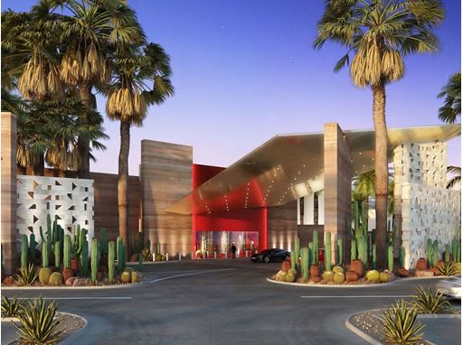 Virgin Hotels Las Vegas - Main Entrance