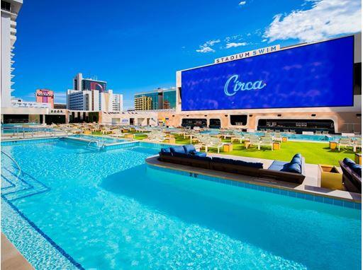 Stadium Swim by Day, Circa Resort & Casino