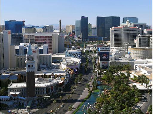 Las Vegas Strip Daytime 2021