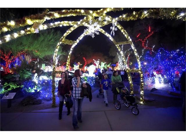 Ethel M Christmas Lights