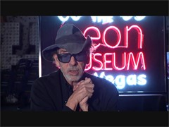 Tim Burton Brings His Unique Vision to the Neon Museum in Las Vegas