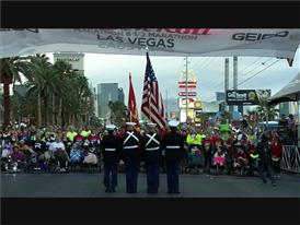 The 2015 Rock 'n' Roll Marathon in Las Vegas