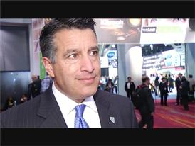 Nevada Governor Brian Sandoval Visits CES and Talks About Tourism in Las Vegas
