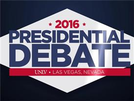 2016 Presidential Debate Animated Logo