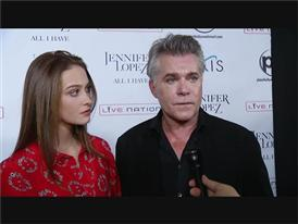 "Ray Liotta Walks The Red Carpet at the Opening of the Jennifer Lopez show ""All I Have"""