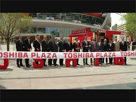 The T-Mobile Arena Opens In Las Vegas Along With the Toshiba Plaza