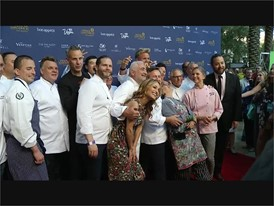 Celebrity Chefs Walk the Red Carpet at Vegas Uncork'd in Las Vegas