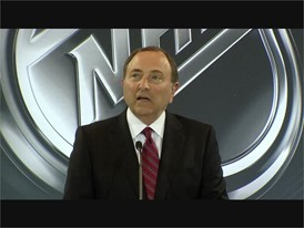 NHL Commissioner Gary Bettman Announces Hockey Team Coming to Las Vegas