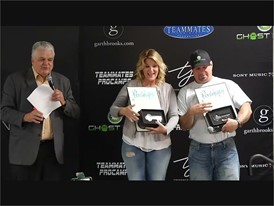 Garth Brooks and Trisha Yearwood Presented with Keys to the Las Vegas Strip
