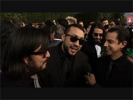 The Chamanas at Latin Grammys