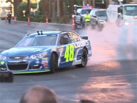 NASCAR Burnout video