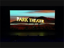 Video of the new Park Theater on the Las Vegas Strip