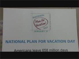 National Plan for Vacation Day Contest in Las Vegas