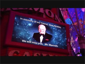 Don Rickles Marquee Tribute - Fremont Street and Downtown Las Vegas