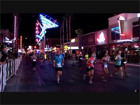 Las Vegas Marathon Runners Downtown