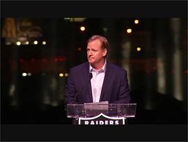 NFL Commissioner Roger Goodell Soundbite